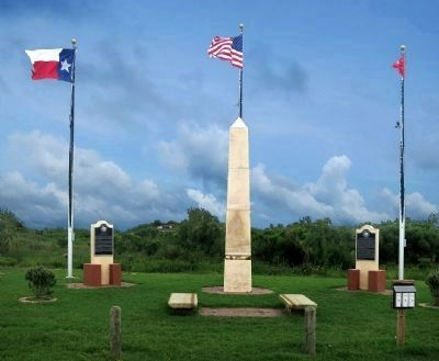 Bolivar Point & Jane Herbert Wilkinson Long Markers image. Click for full size.