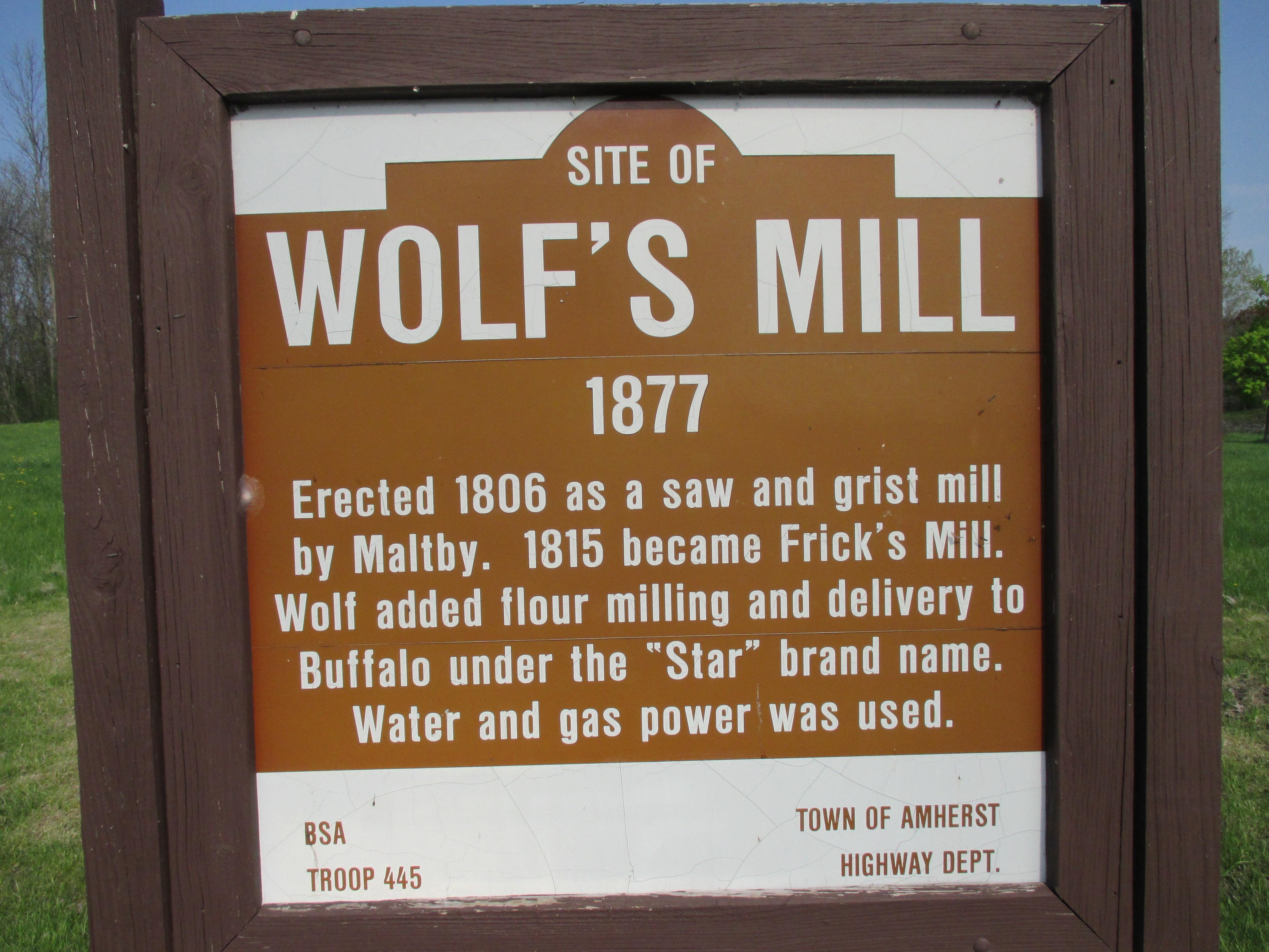Site of Wolf