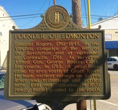 Founder of Edmonton Marker image. Click for full size.