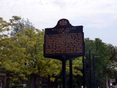 William Allen Marker image. Click for full size.