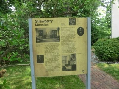 Strawberry Mansion Marker image. Click for full size.