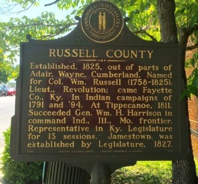 Russell County Marker image. Click for full size.