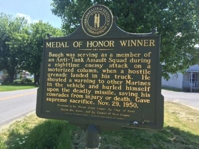 Medal of Honor Winner Marker image. Click for full size.