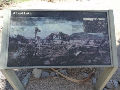 A Lost Lake Marker image. Click for full size.