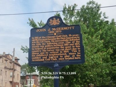 John J. McDermott Marker image. Click for full size.