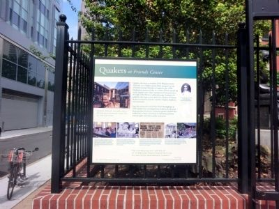 Quakers at Friends Center Marker image. Click for full size.