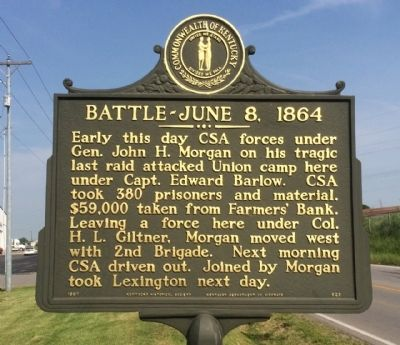 Battle-June 8, 1864 Marker image. Click for full size.