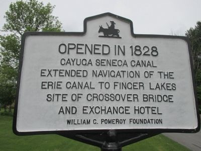 Opened in 1828 Marker image. Click for full size.