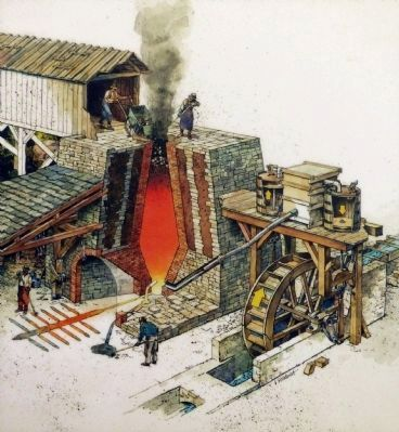 Northampton Furnace image. Click for full size.
