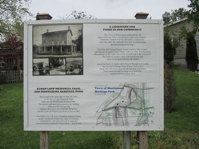 A Landmark and Pride in Our Community Marker image. Click for full size.