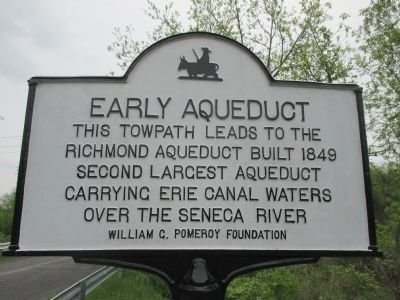 Early Aqueduct Marker image. Click for full size.