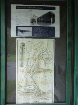 Kiosk Towpath & Aqueduct Information image. Click for full size.