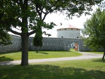 Entrance to Fort Frederick image. Click for full size.