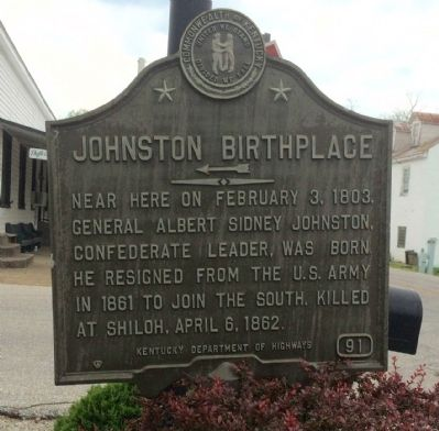 Johnston Birthplace Marker image. Click for full size.