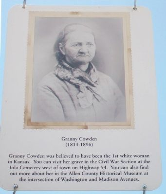 Granny Cowden Marker image. Click for full size.