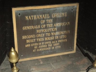Nathanael Greene Marker image. Click for full size.
