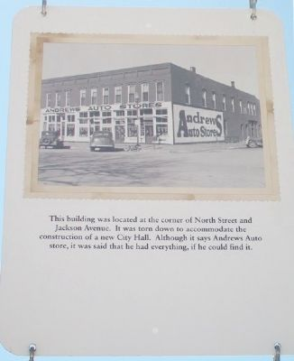 Andrews Auto Stores Marker image. Click for full size.