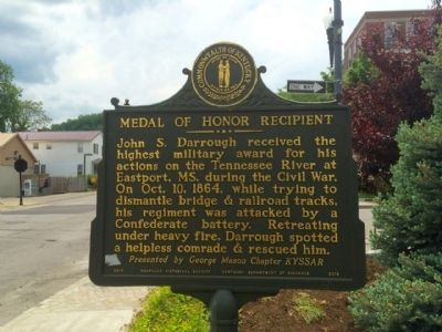 Medal of Honor Recipient Marker image. Click for full size.
