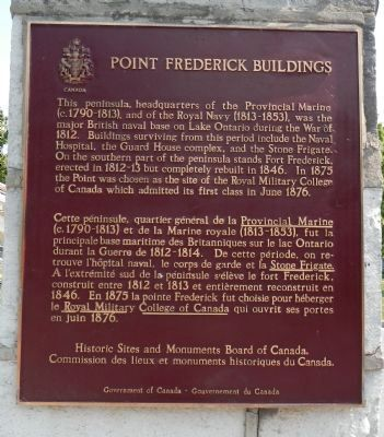 Point Frederick Buildings Marker image. Click for full size.