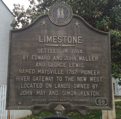 Limestone Marker image. Click for full size.