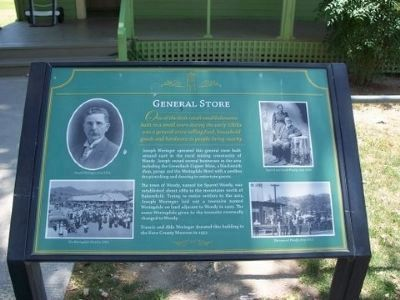 General Store Marker image. Click for full size.