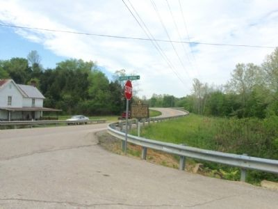 Looking north on Morehead Road. image. Click for full size.