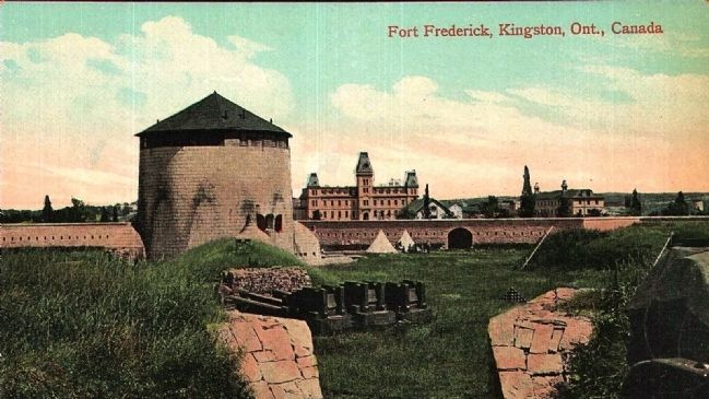 <i>Fort Frederick, Kingston, Ont., Canada</i> image. Click for full size.