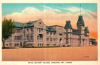 <i>Royal Military College, Kingston, Ont., Canada</i> image. Click for full size.
