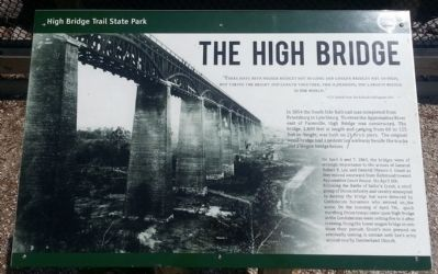 The High Bridge Marker image. Click for full size.