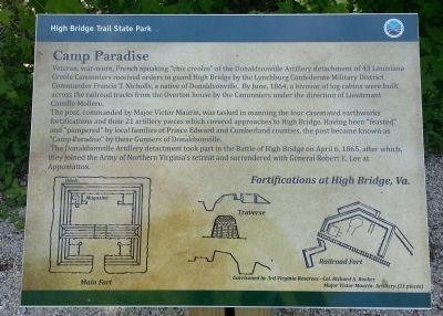 Camp Paradise Marker image. Click for full size.