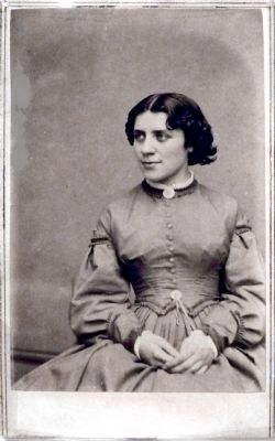 Anna E. Dickinson image. Click for full size.