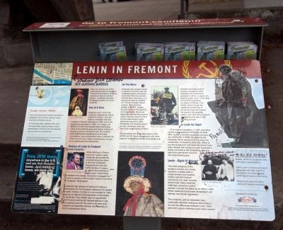 Lenin in Fremont Marker image. Click for full size.