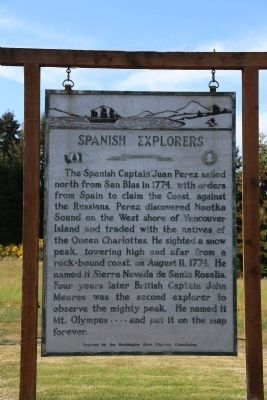 Spanish Explorers Marker image. Click for full size.