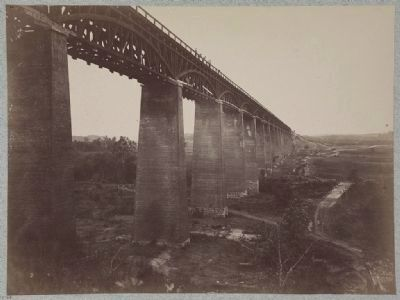 High bridge, Appomattox, Va. image. Click for full size.