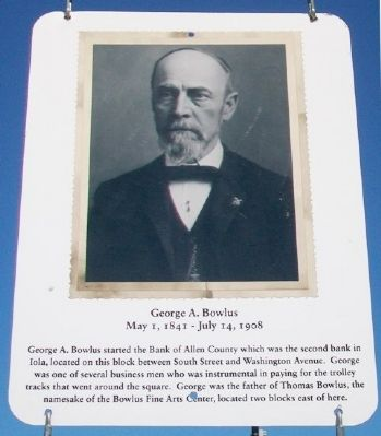 George A. Bowlus Marker image. Click for full size.