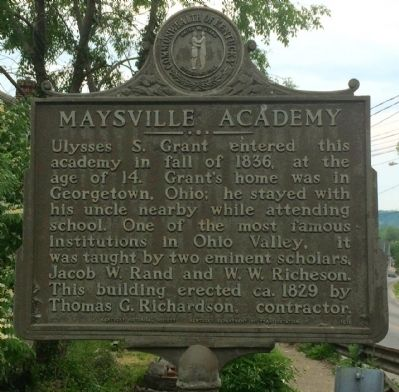 Maysville Academy Marker image. Click for full size.