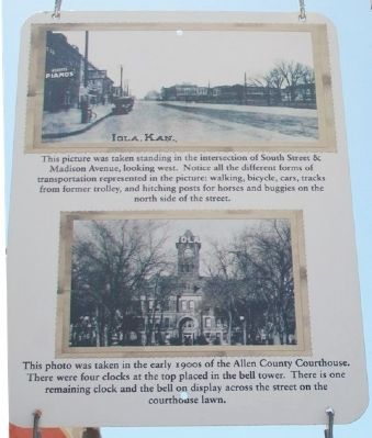 Madison Avenue and the Allen County Courthouse Marker image. Click for full size.