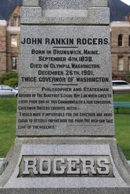 John Rankin Rogers Monument image. Click for full size.