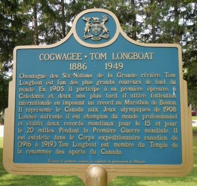 Cogwagee • Tom Longboat Marker image. Click for full size.
