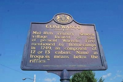 Conewango Marker image. Click for full size.