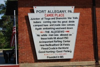Port Allegany, PA Marker image. Click for full size.