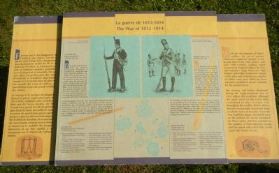 The War of 1812 - 1814 Marker image. Click for full size.