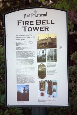 Fire Bell Tower Marker image. Click for full size.