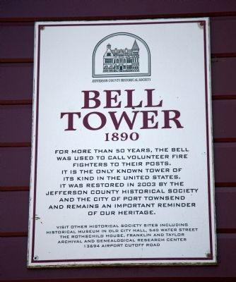 Bell Tower Marker image. Click for full size.