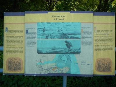 A dry canal Marker image. Click for full size.