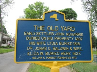 The Old Yard Marker image. Click for full size.