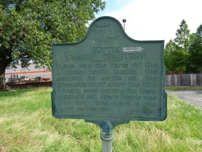 Bettis Family Cemetery Marker image. Click for full size.