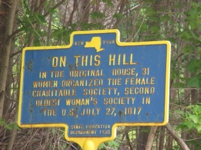 On This Hill Marker image. Click for full size.