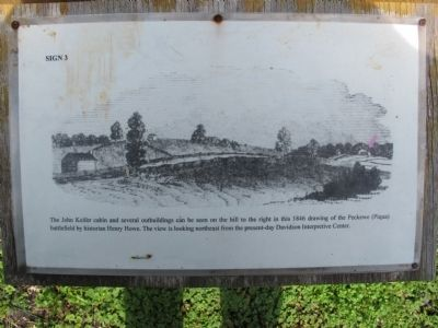 The Keifer Cabin Site Marker image. Click for full size.