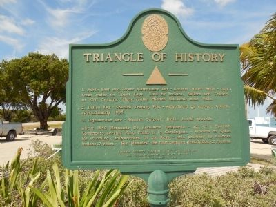Triangle of History Marker image. Click for full size.